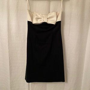 White House Black Market bow dress